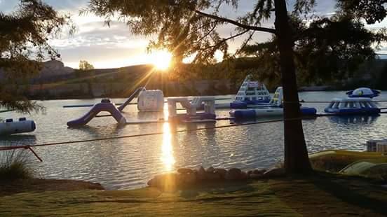 Aquagame - Lac des Buissonnades - Oraison